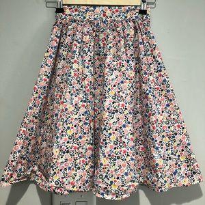 tea collection Floreale Midi Skirt